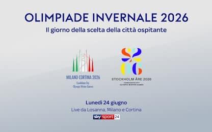 Olimpiade 2026, il giorno della scelta su Sky