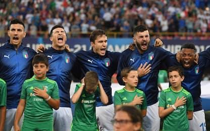 L'urlo di Mameli, l'Italia terrorizza le mascotte