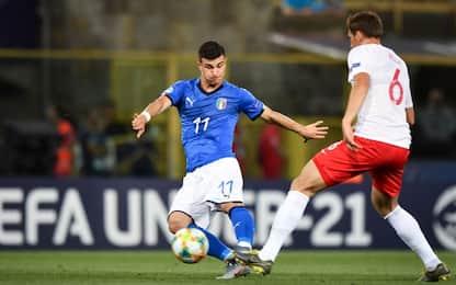 Euro U21, Orsolini ko: salta Italia-Belgio