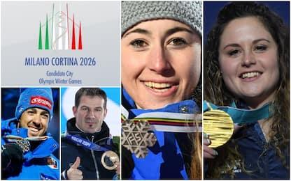 Olimpiadi 2026, in bocca al lupo Milano-Cortina!