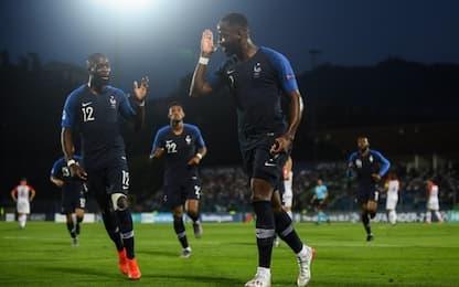 Francia-Croazia 1-0, per l'Italia si fa più dura