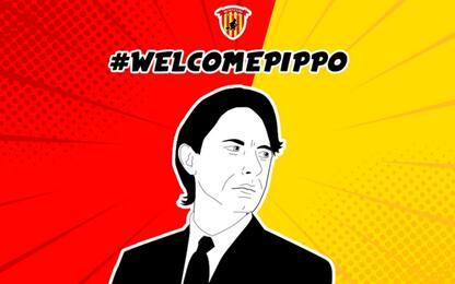 Benevento, Pippo Inzaghi è il nuovo allenatore