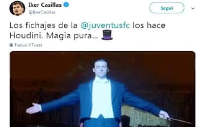 Casillas tweet a sorpresa sul mercato della Juve