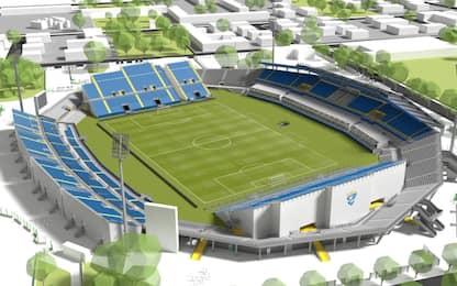 Brescia, come cambierà lo stadio Rigamonti. FOTO