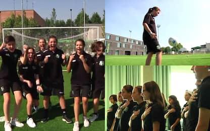 Mondiali, Italia-Cina con le ragazze del Sassuolo