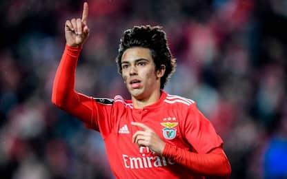 Joao Felix, Atletico paga la clausola di 120 mln