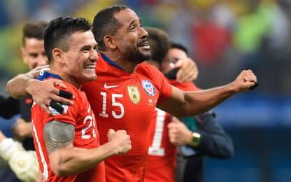 Cile di rigore, Colombia battuta: è semifinale
