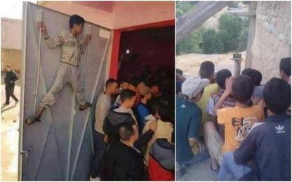 Benatia regala tv ai bimbi per seguire il Marocco