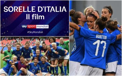 """Sorelle d'Italia"", on demand il film sul Mondiale"