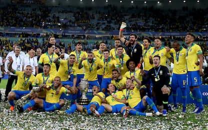Il Brasile trionfa in Copa America: 3-1 al Perù