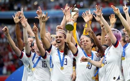 Stati Uniti in festa: le FOTO del trionfo mondiale