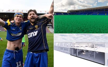 Orinatoi intestati allo stadio: idea AFC Wimbledon