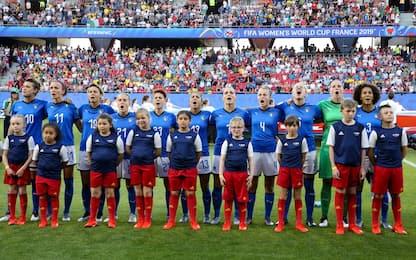 Ranking FIFA donne: Usa prime, sale l'Italia