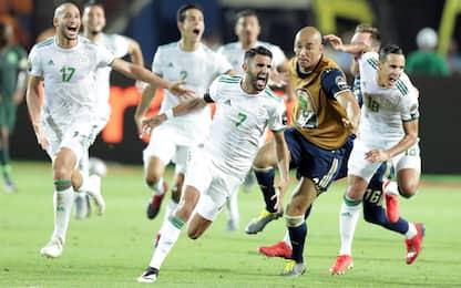 Magia Mahrez, Algeria in finale: Nigeria fuori 2-1