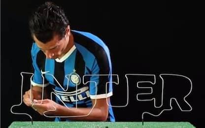 Inter, sfida a Buzz Wire: vince Candreva! VIDEO