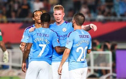 Premier League Asia Trophy, City in finale