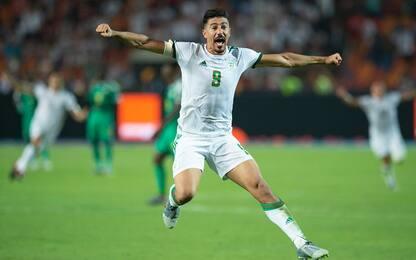 Bomber Bounedjah: segna più di Messi e CR7!