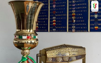 Coppa Italia, il calendario del quarto turno