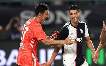 CR7-gol, Buffon super: Juve-Inter 5-4 ai rigori