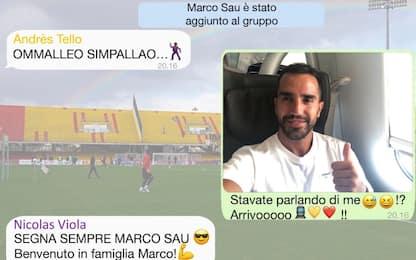 Sau al Benevento, l'annuncio è su... whatsapp