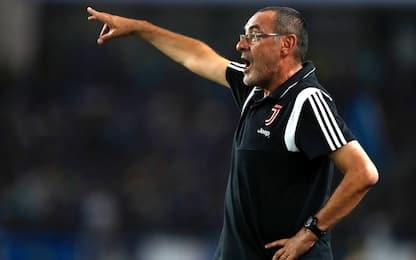 """Sarri: """"Buffon strepitoso, ma titolare è Szczesny"""""""