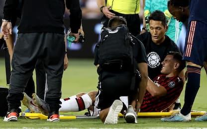 Infortunio per Theo Hernandez: escluse fratture