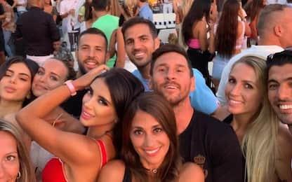 Messi e Antonela a Ibiza, festa scatenata. VIDEO