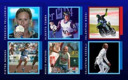 Pellegrini ma non solo, VOTA i miti dello sport