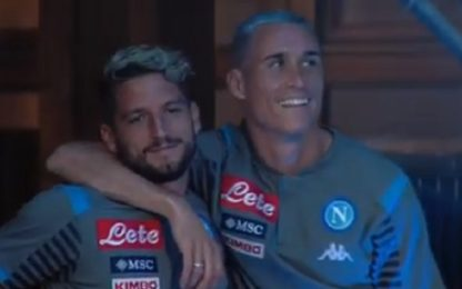 "Mertens a Callejon: ""Forse ultimo anno insieme"""