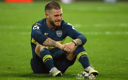 Nandez al Cagliari: lascia il Boca in lacrime