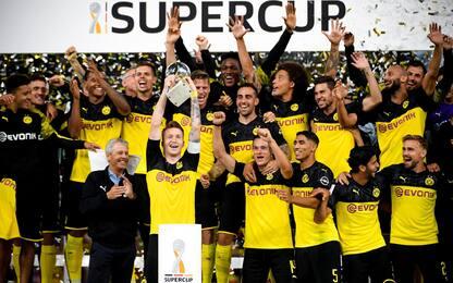 Sancho show, Bayern ko 2-0: Supercoppa al Borussia