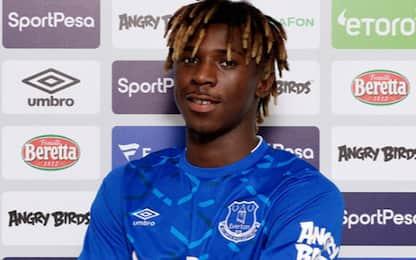 Everton, ufficiale l'arrivo di Kean
