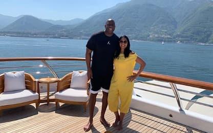 Magic Johnson extra-lusso: che vacanze in Italia!
