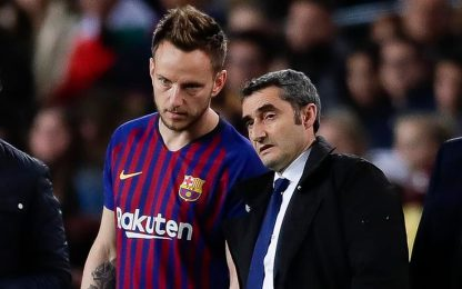 """Valverde: """"Rakitic? Non so se resterà al Barça"""""""