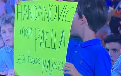 Inter-Valencia, la strana richiesta per Handanovic