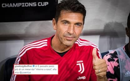 """Buffon, lettera alla Juve: """"Sono tornato a casa"""""""