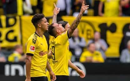 Cinquina Dortmund, i risultati di Bundesliga