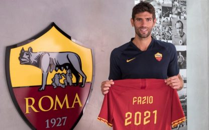 Roma, Fazio rinnova fino al 2021