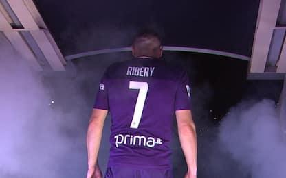 Firenze pazza per Ribery: in migliaia al Franchi