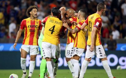 Montipò para rigore al 96', Pisa-Benevento è 0-0