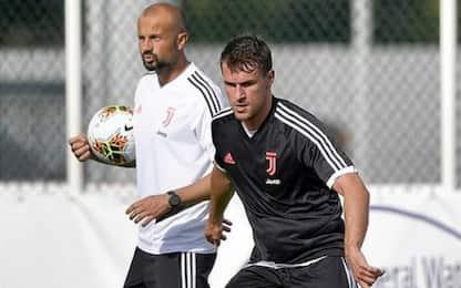 La lombalgia ferma Ramsey: a rischio per il Napoli