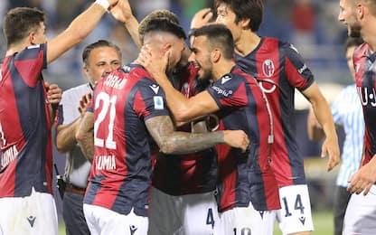 Soriano al 93', vince il Bologna: Spal ko 1-0