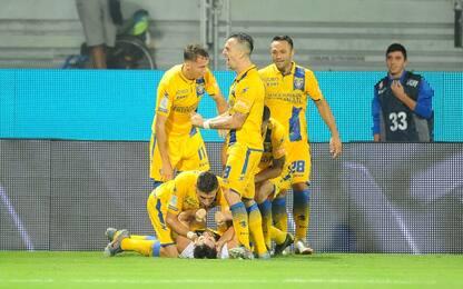 Il Frosinone ribalta l'Ascoli: Nesta vince 2-1