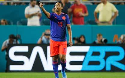 Brasile-Colombia 2-2: doppio Muriel in amichevole