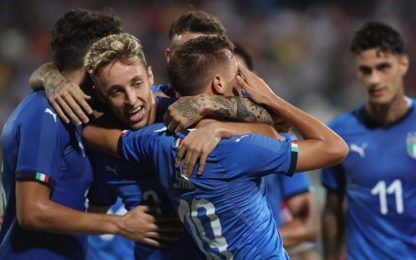 L'U21 di Nicolato parte bene: 4-0 alla Moldavia