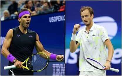 US Open, ultimo atto: alle 22 c'è Medvedev-Nadal