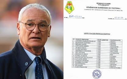 La Guinea cerca Ct, c'è anche Ranieri nella lista