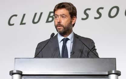 """Agnelli: """"Nuove coppe dal 2024, riforma va avanti"""""""