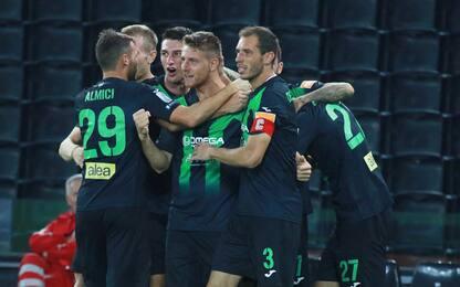 Il Pordenone fa festa con Barison: Spezia ko 1-0