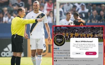 MLS, Galaxy non seguono più gli arbitri su Twitter